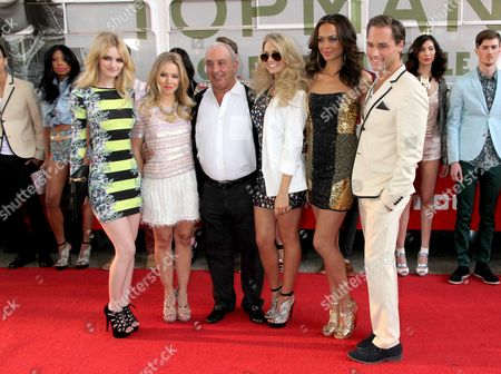 Editorial photo of Topshop And Topman Store Opening in Las Vegas, America - 08 Mar 2012