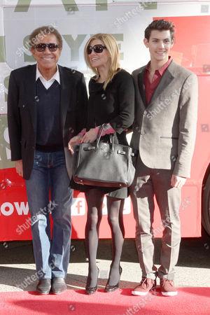 Steve Wynn, Andrea Hissom Wynn and Nick Hissom