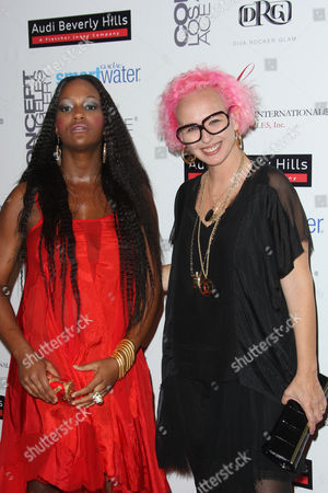 Editorial image of 'Meet The Designer and The Muse' cocktail party, presented by the Fashion Group International of Los Angeles, America - 08 Mar 2012