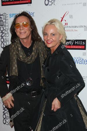 George Blodwell and Amanda Eliasch