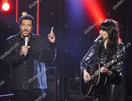 Lionel Richie and Jill Johnson