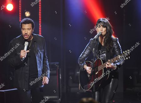 Lionel Richie and Jill Johnson