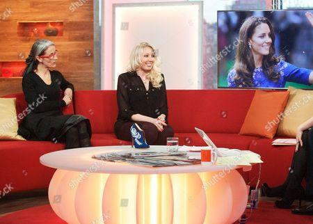 Editorial image of 'Daybreak' TV Programme, London, Britain - 09 Mar 2012
