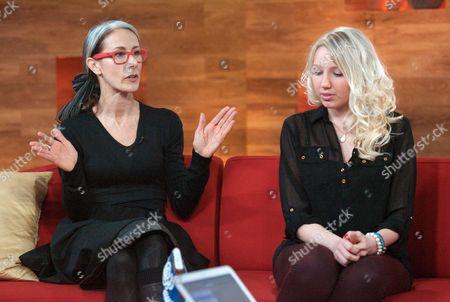 Editorial photo of 'Daybreak' TV Programme, London, Britain - 09 Mar 2012