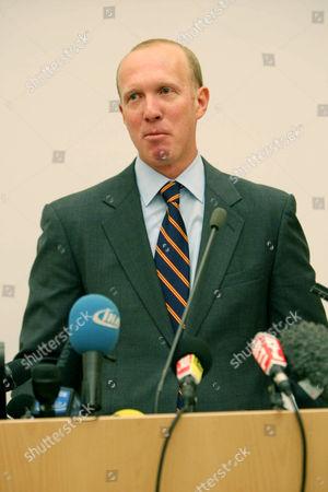Editorial picture of Lawyer Douglas Wigdor talks at Cambridge University, Britain - 09 Mar 2012