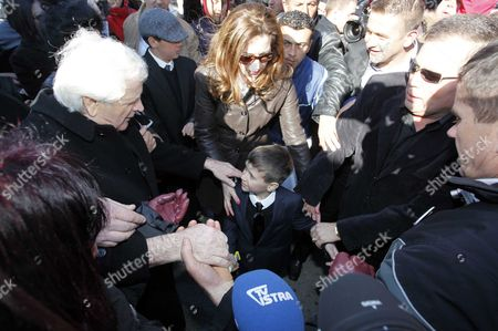 Editorial picture of Ex-Bosnian warlord Fikret Abdic released from prison, Pula, Croatia - 09 Mar 2012