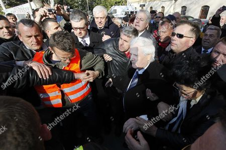 Editorial image of Ex-Bosnian warlord Fikret Abdic released from prison, Pula, Croatia - 09 Mar 2012