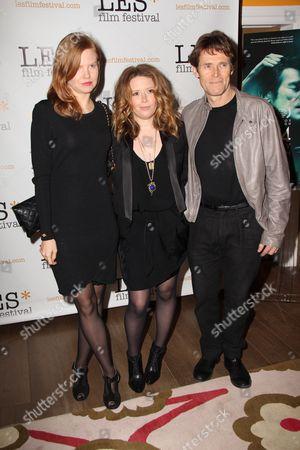 Shanyn Leigh, Natasha Lyonne and Willem Dafoe