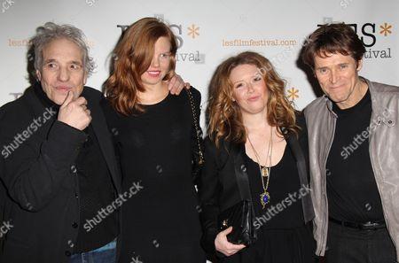 Abel Ferrara, Shanyn Leigh, Natasha Lyonne and Willem Dafoe