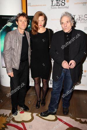 Willem Dafoe, Shanyn Leigh and Abel Ferrara
