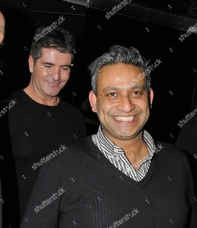 Simon Cowell and Rav Singh