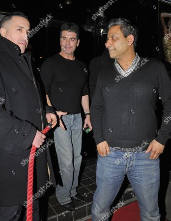 Editorial photo of Simon Cowell Out and About in London, Britain - 09 Mar 2012