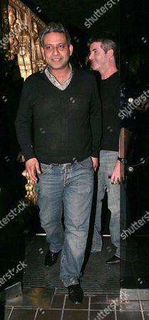 Rav Singh and Simon Cowell