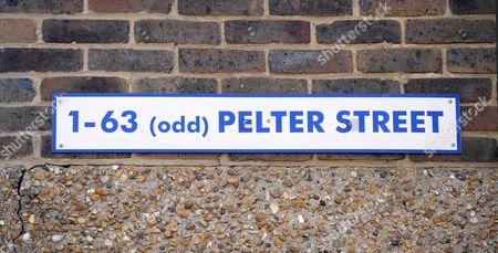 Pelter Street, where Gemma McCluskie's flat is located