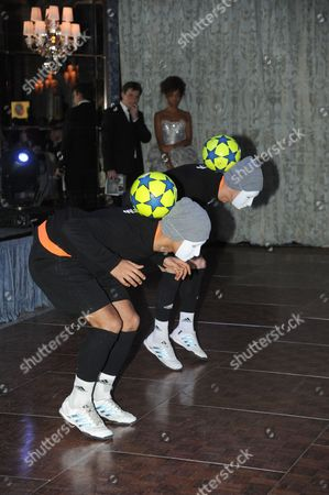 'The F2' football freestylers - Billy Wingrove and Jeremy Lynch