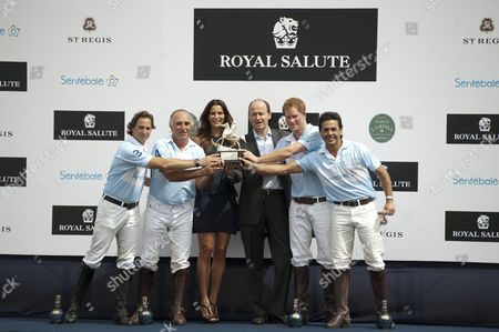 Editorial image of Prince Harry playing at Sentebale Royal Cup charity polo match, Campinas, Brazil - 11 Mar 2012