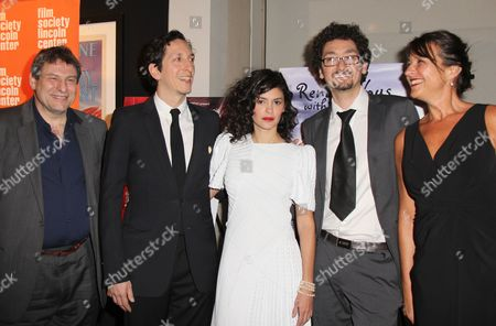 Richard Pena, Stephane Foenkinos, Audrey Tautou, David Foenkinos and Regine Hatchondo