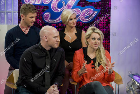 Jeff Brazier and Kerry Katona with Sean Rice and Chemmy Alcott