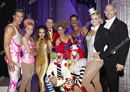 Behind the scenes, Matt Evers, Jorgie Porter, Nina Ulanova, Matthew Wolfenden, Jodeyne Higgins, Chico Slimani, Chemmy Alcott, Sean Rice, Jennifer Ellison and Daniel Whiston