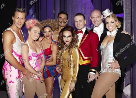 Behind the scenes, Matt Evers, Jodeyne Higgins, Chico Slimani, Nina Ulanova, Matthew Wolfenden, Sean Rice and Chemmy Alcott