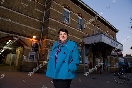 Val Shawcross at Herne Hill railway station