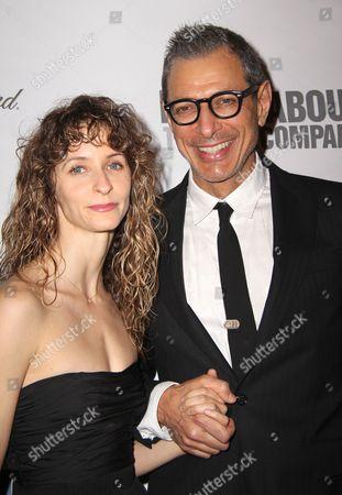 Jeff Goldblum and girlfriend Emily Livingston