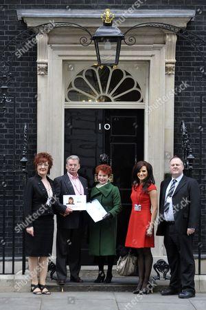 Elizabeth Betts, Michael Brown, Hazel Blears MP, Michelle Livesey and Adam Brown-Wilkinson