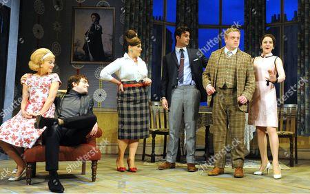 Hannah Spearritt as Pauline, Daniel Ings as Alan, Jodie Prenger as Dolly, Ben Mansfield as Stanley, Owain Arthur as Francis, Gemma Whelan as Rachel