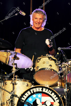 Stock Picture of Grand Funk Railroad - Don Brewer