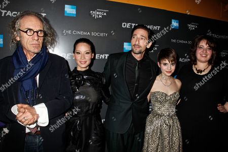 Tony Kaye, Lucy Liu, Adrien Brody, Sami Gayle and Betty Kaye