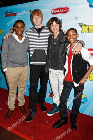 Doc Shaw, Adam Hicks, Leo Howard and Tyrel Jackson Williams