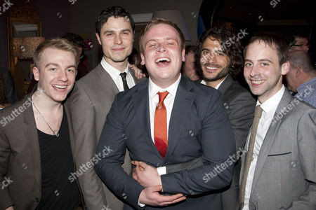 Editorial image of 'One Man Two Guvnors' play after party at the Haymarket Hotel, London, Britain - 13 Mar 2012