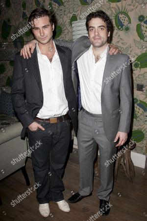 Ben Mansfield (Stanley Stubbers) and Daniel Ings (Alan Dangle)