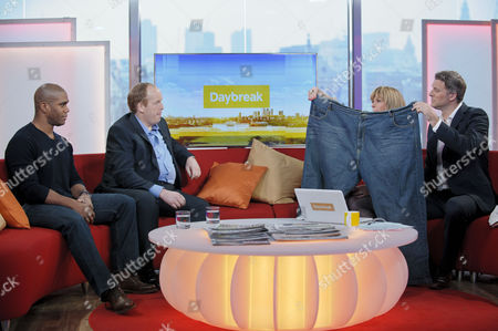 Editorial photo of 'Daybreak' TV Programme, London, Britain - 14 Mar 2012