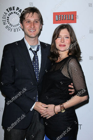Aaron Staton and Connie Fletcher