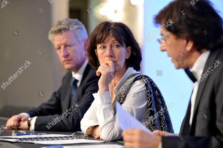 Pieter De Crem, Laurette Onkelinx and Prime Minister Elio Di Rupo