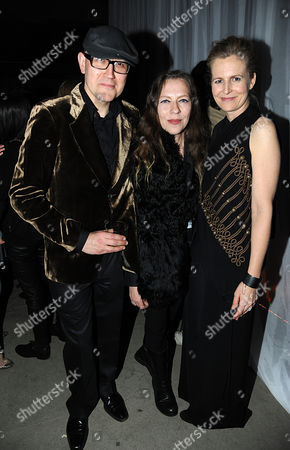 Stock Picture of Simon Costin, Ann Demeulemeester and Alannah Weston