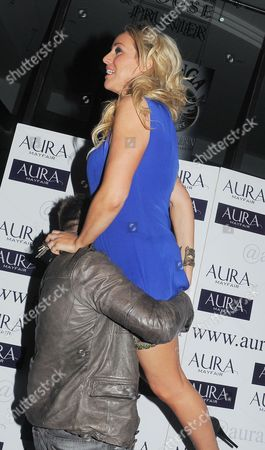 Editorial picture of Danielle Mason at the Aura night club, London, Britain - 14 Mar 2012