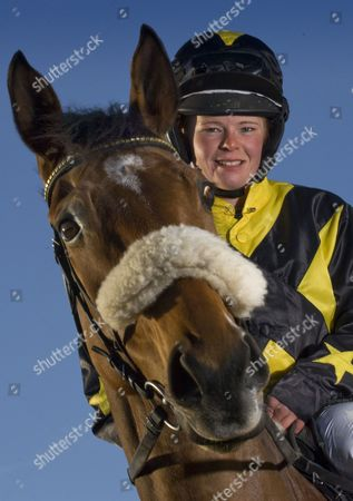 Editorial photo of Jockey and trainer Jess Westwood at home in Exford, Somerset, Britain - 07 Mar 2012