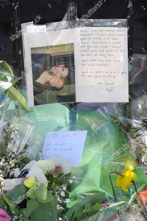 Editorial image of Tributes for murder victim Gemma McCluskie, London, Britain - 12 Mar 2012