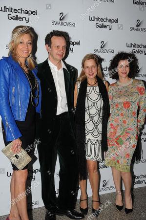 Nadja Swarovski, Tom Dixon, Iwona Blazwick and Mollie Dent Brocklehurst