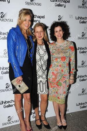 Nadja Swarovski, Iwona Blazwick and Mollie Dent Brocklehurst