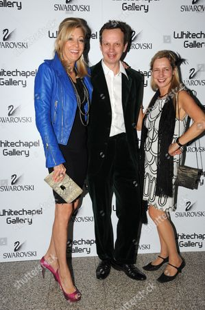 Nadja Swarovski, Tom Dixon and Iwona Blazwick