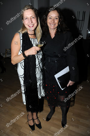 Iwona Blazwick and Trish Ronane