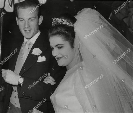 Wedding Of Daphne Fairbanks Daughter Of Actor Douglas Fairbanks Jr To David Weston At Guards Chapel