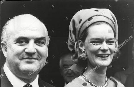 Sir George Weidenfeld and Sandra Meyer