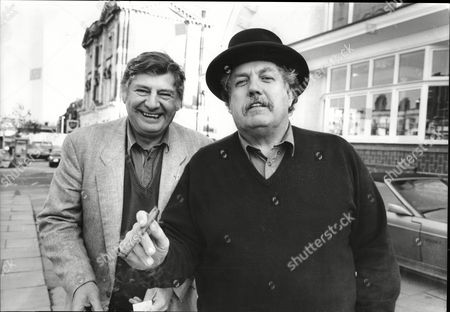 Actor's James Ellis And Colin Welland (right)
