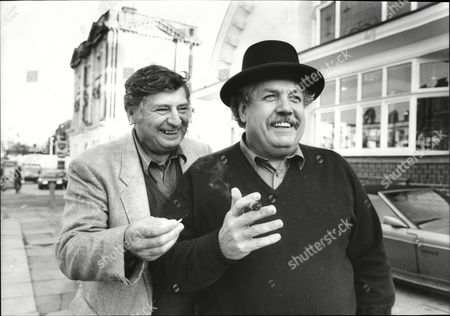 Editorial photo of Actor's James Ellis And Colin Welland (right)