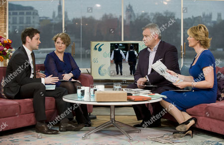 Jo Bunting and Gordon Smart with Eamonn Holmes and Ruth Langsford