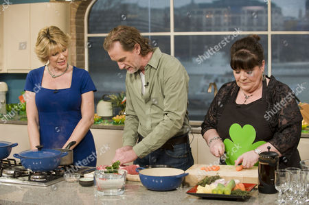 Ruth Langsford, Paul Rankin and Mary Byrne.
